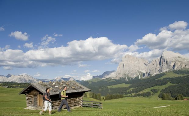 Hotel Alpenflora - Hiking tours on the Alpe di Siusi