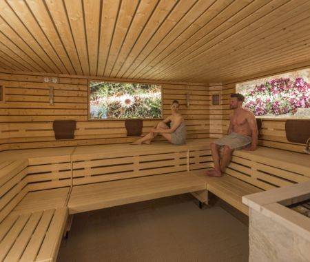 The spa area and treatments of Hotel Alpenflora****