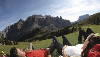 Your trekking holiday in the Dolomits: Hotel Alpenflora****